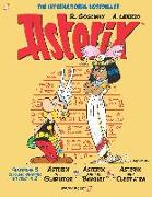 Cover-Bild zu Goscinny, René: Asterix Omnibus #2: Collects Asterix the Gladiator, Asterix and the Banquet, and Asterix and Cleopatra
