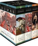 Cover-Bild zu Die drei Musketiere (Die drei Musketiere, 20 Jahre später, Der Mann mit der eisernen Maske - 10 Jahre später) von Dumas, Alexandre
