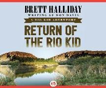 Cover-Bild zu Halliday, Brett: Return of the Rio Kid