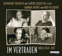 Cover-Bild zu Arendt, Hannah: Im Vertrauen