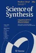Cover-Bild zu Beignet, Julien (Beitr.): Science of Synthesis: Houben-Weyl Methods of Molecular Transformations Vol. 20a (eBook)