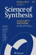 Cover-Bild zu de Meijere, Armin (Hrsg.): Science of Synthesis: Houben-Weyl Methods of Molecular Transformations Vol. 24 (eBook)