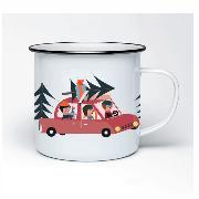 Cover-Bild zu Emaille Tasse Weihnachtsexpress