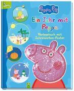 Cover-Bild zu Ein Jahr mit Peppa - Peppa Pig von Specht, Florentine