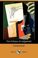 Cover-Bild zu Kant, Immanuel: The Critique of Judgement (Dodo Press)