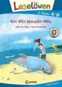 Cover-Bild zu von Vogel, Maja: Leselöwen 2. Klasse - Ein Wal braucht Hilfe