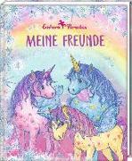 Cover-Bild zu Freundebuch - Einhorn-Paradies - Meine Freunde von Monika Finsterbusch (Illustr.)