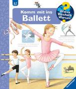 Cover-Bild zu Komm mit ins Ballett von Rübel, Doris
