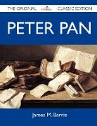 Cover-Bild zu James M. Barrie: Peter Pan - The Original Classic Edition