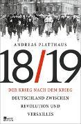 Cover-Bild zu Platthaus, Andreas: Der Krieg nach dem Krieg