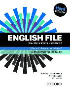 Cover-Bild zu English File: Pre-Intermediate: Student's Book/Workbook MultiPack A with Oxford Online Skills