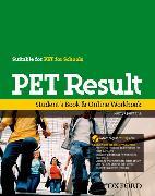 Cover-Bild zu Quintana, Jenny: PET Result:: Student's Book & Online Workbook - PET Result