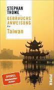 Cover-Bild zu Thome, Stephan: Gebrauchsanweisung für Taiwan