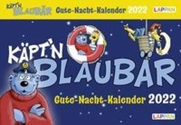Cover-Bild zu Flessner, Bernd: Gute-Nacht-Kalender 2022: Käpt'n Blaubär Abendabreißkalender für Kinder