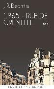Cover-Bild zu Bechtle, J. R.: 1965: Rue de Grenelle (eBook)