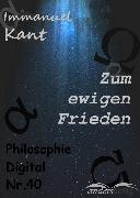 Cover-Bild zu Kant, Immanuel: Zum ewigen Frieden (eBook)