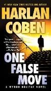 Cover-Bild zu Coben, Harlan: One False Move (eBook)