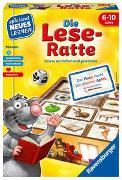Cover-Bild zu Kreowski, Klaus: Ravensburger 24956 - Die Lese-Ratte - Spielen und Lernen für Kinder, Lernspiel für Kinder ab 6-10 Jahren, Spielend Neues Lernen für 1-4 Spieler