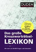 Cover-Bild zu Dudenredaktion: Das große Kreuzworträtsel-Lexikon
