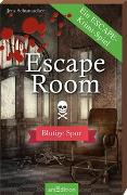Cover-Bild zu Schumacher, Jens: Escape Room - Blutige Spur. Ein Escape-Krimi-Spiel
