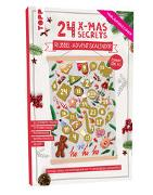 Cover-Bild zu frechverlag: 24 X-MAS SECRETS - Rubbel-Adventskalender - Kleine Weihnachtshelfer