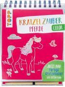 Cover-Bild zu frechverlag: Kratzelzauber Color Pferde