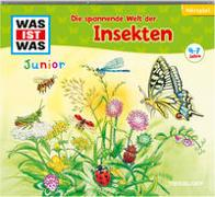 Cover-Bild zu Daniela Wakonigg: WAS IST WAS Junior Hörspiel. Die spannende Welt der Insekten