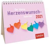 Cover-Bild zu Der kleine Herzenswunschkalender 2021 von Groh Redaktionsteam (Hrsg.)