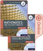 Cover-Bild zu La Rondie, Paul: Oxford IB Diploma Programme: IB Mathematics: analysis and approaches, Standard Level, Print and Enhanced Online Course Book Pack