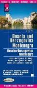 Cover-Bild zu Peter Rump, Reise Know-How Verlag: Reise Know-How Landkarte Bosnien-Herzegowina, Montenegro / Bosnia and Herzegovina, Montenegro (1:350.000). 1:350'000