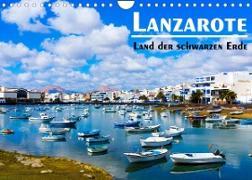 Cover-Bild zu VogtArt: Lanzarote - Land der schwarzen Erde (Wandkalender 2022 DIN A4 quer)