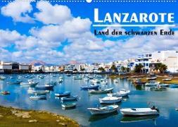 Cover-Bild zu VogtArt: Lanzarote - Land der schwarzen Erde (Wandkalender 2022 DIN A2 quer)