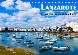 Cover-Bild zu VogtArt: Lanzarote - Land der schwarzen Erde (Tischkalender 2022 DIN A5 quer)