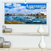 Cover-Bild zu VogtArt: Lanzarote - Land der schwarzen Erde (Premium, hochwertiger DIN A2 Wandkalender 2022, Kunstdruck in Hochglanz)