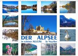 Cover-Bild zu VogtArt: Der Alpsee im schönen Allgäu (Wandkalender 2022 DIN A3 quer)