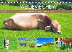 Cover-Bild zu VogtArt: Weideviecher, Kühe liebevolle Wiederkäuer (Tischkalender 2022 DIN A5 quer)