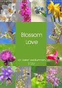 Cover-Bild zu VogtArt: Blossom Love, von Bienen und Hummeln (Wandkalender 2022 DIN A3 hoch)