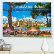 Cover-Bild zu VogtArt: Impressionen Italien, Sienna, Rom, Florenz, Pisa, Venedig, Amalfie Küste, Toskana by VogtArt (Premium, hochwertiger DIN A2 Wandkalender 2022, Kunstdruck in Hochglanz)