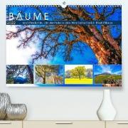 Cover-Bild zu VogtArt: Bäume ... sind Gedichte, die die Erde in den Himmel schreibt. Khali Gibran (Premium, hochwertiger DIN A2 Wandkalender 2022, Kunstdruck in Hochglanz)