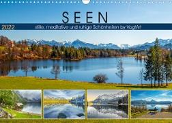 Cover-Bild zu VogtArt: SEEN, stille, meditative und ruhige Schönheiten by VogtArt (Wandkalender 2022 DIN A3 quer)