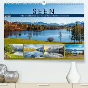 Cover-Bild zu VogtArt: SEEN, stille, meditative und ruhige Schönheiten by VogtArt (Premium, hochwertiger DIN A2 Wandkalender 2022, Kunstdruck in Hochglanz)