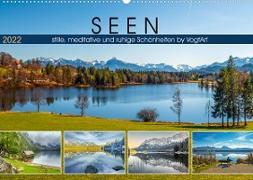Cover-Bild zu VogtArt: SEEN, stille, meditative und ruhige Schönheiten by VogtArt (Wandkalender 2022 DIN A2 quer)