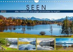Cover-Bild zu VogtArt: SEEN, stille, meditative und ruhige Schönheiten by VogtArt (Wandkalender 2022 DIN A4 quer)