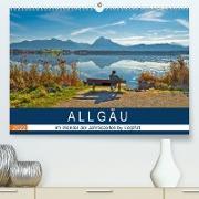 Cover-Bild zu VogtArt: ALLGÄU, im Wandel der Jahreszeiten. (Premium, hochwertiger DIN A2 Wandkalender 2022, Kunstdruck in Hochglanz)