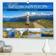 Cover-Bild zu VogtArt: Impressionen Europa, Panoramafotografien by VogtArt (Premium, hochwertiger DIN A2 Wandkalender 2022, Kunstdruck in Hochglanz)