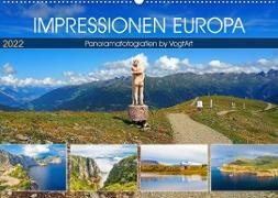 Cover-Bild zu VogtArt: Impressionen Europa, Panoramafotografien by VogtArt (Wandkalender 2022 DIN A2 quer)