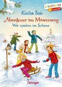 Cover-Bild zu Boie, Kirsten: Abenteuer im Möwenweg. Wir spielen im Schnee