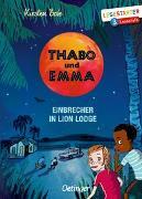 Cover-Bild zu Boie, Kirsten: Thabo und Emma. Einbrecher in Lion Lodge
