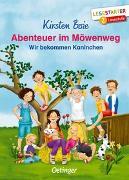 Cover-Bild zu Boie, Kirsten: Abenteuer im Möwenweg. Wir bekommen Kaninchen