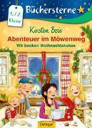 Cover-Bild zu Boie, Kirsten: Abenteuer im Möwenweg. Wir backen Weihnachtskekse